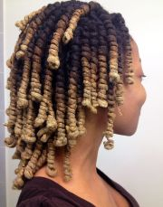 lady-loc pipe curls beautiful