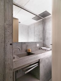 Concrete Minimalist Cabin in the Swiss Alps | Concrete ...