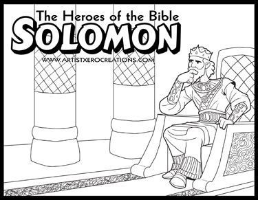 The Heroes of the Bible Coloring Pages