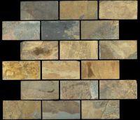 California Gold 2x4 Slate Subway Tile $5.13 | Kitchen ...