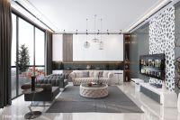 Ultra Luxury Apartment Design | Living Room Designs ...