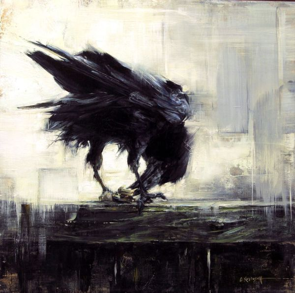 Raven Oil Paintings - Google Artists Inspire