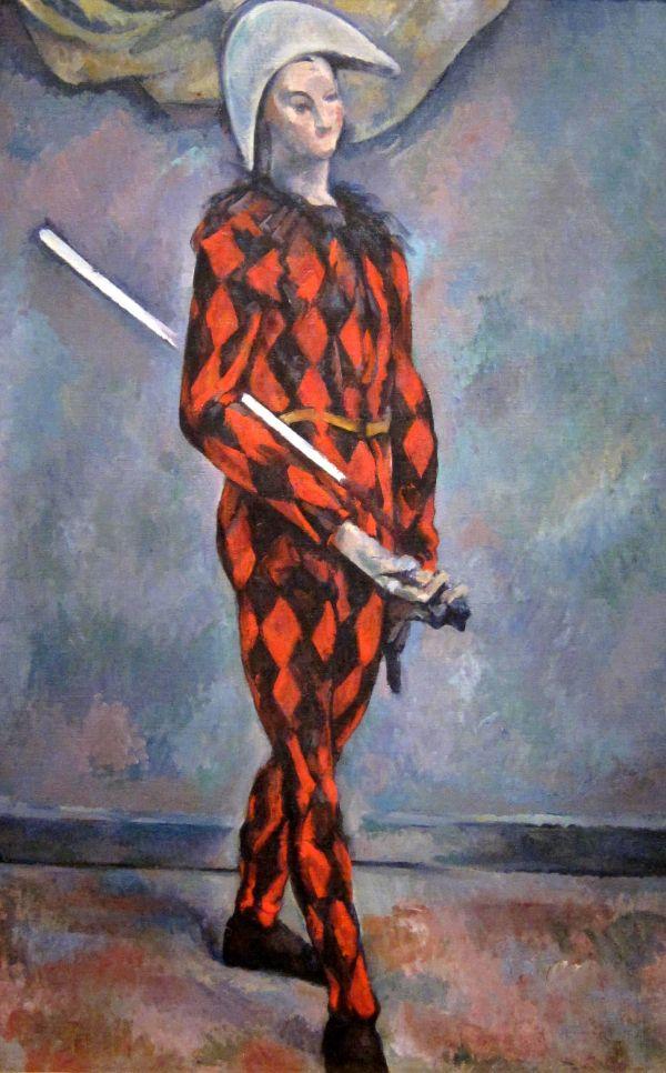 Paul Zanne Harlequin 1888 1890 National Of