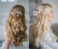 Long Hair Wedding Down Dos | Fade Haircut