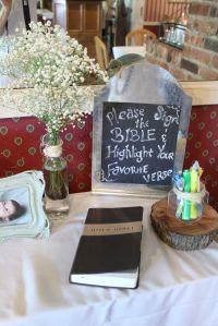 Baby Dedication Recap | Bible, Babies and Books