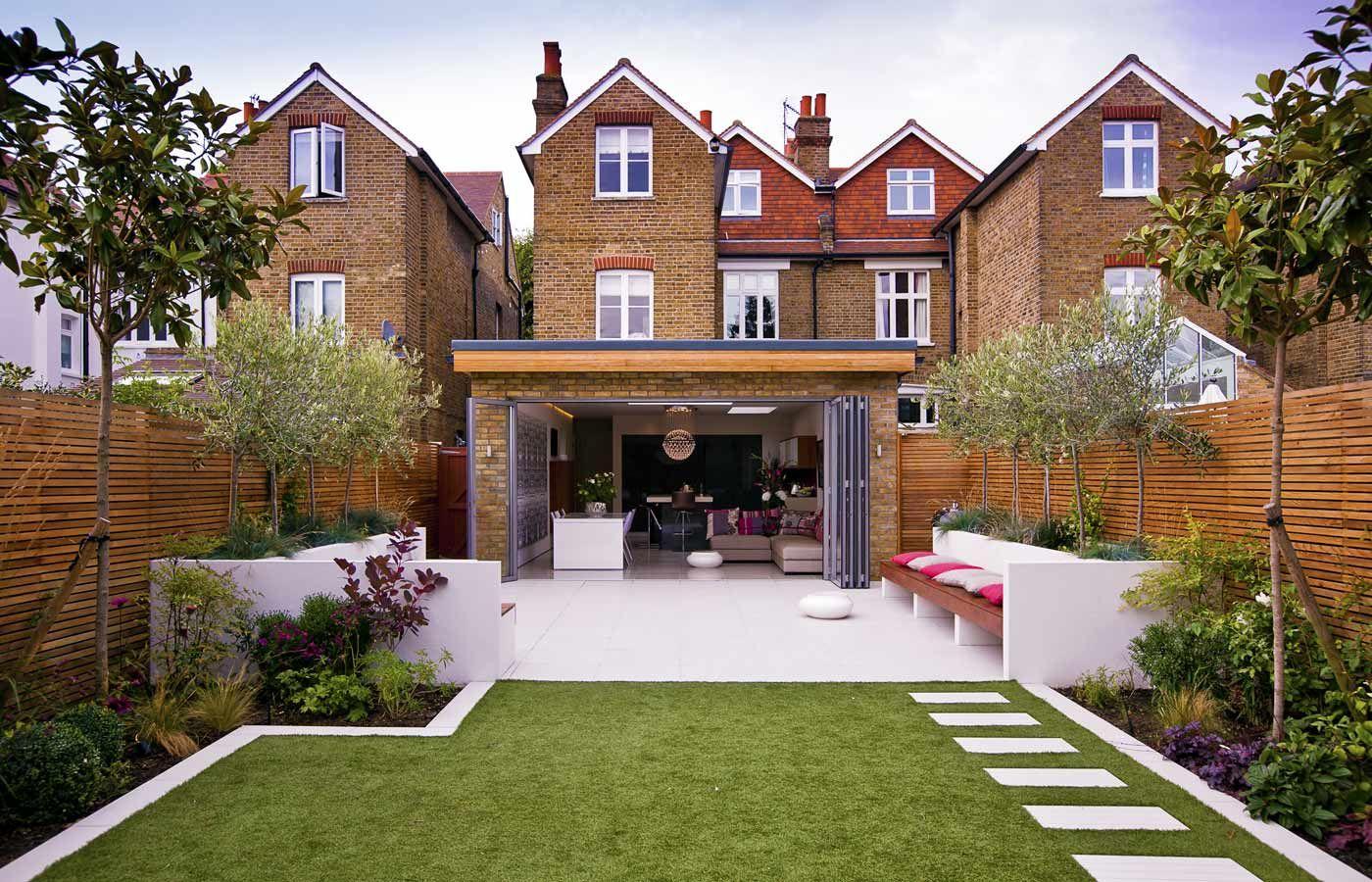 Small Narrow Garden Design Ideas Backyard Oasis Pinterest