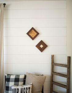 Modern interior decorating also reclaimed cedar boho chic home decor shop on etsy rh pinterest