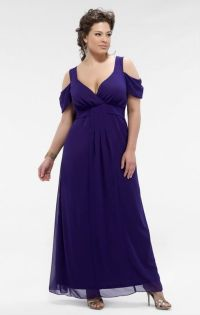 plus size bridesmaid dresses with sleeves | Ankle-Length ...