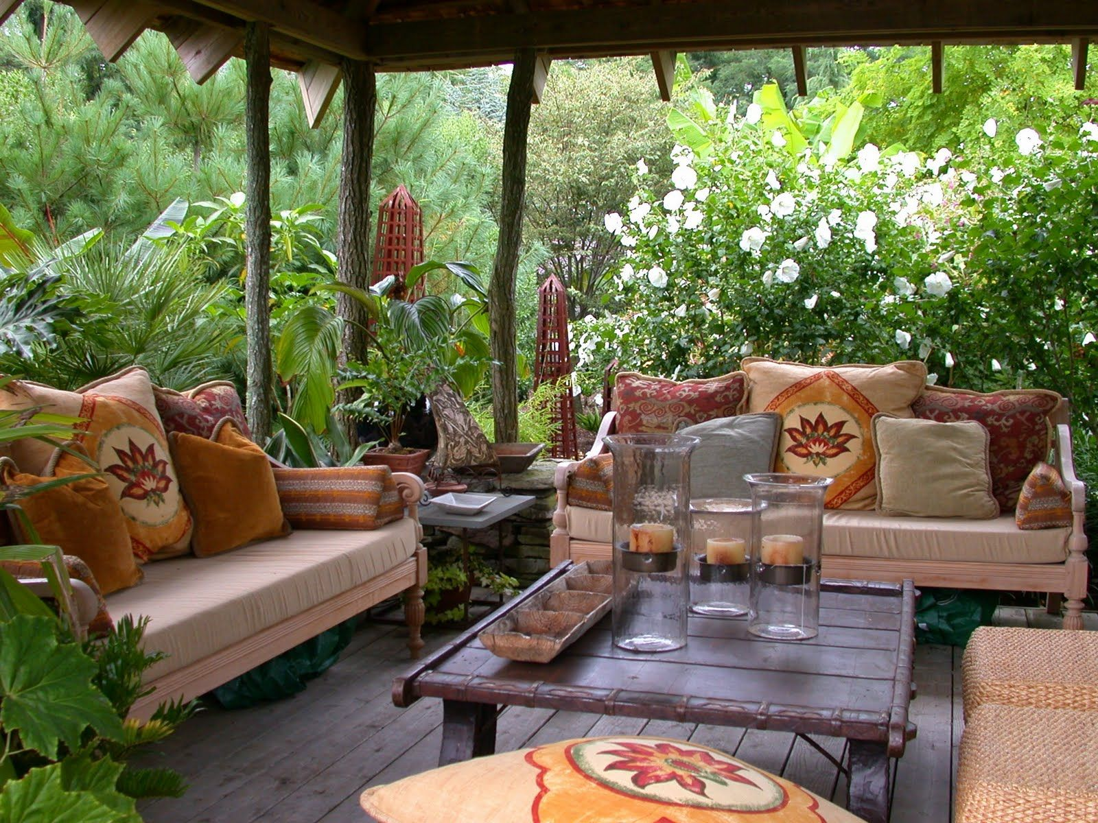 Easy Lounging Use Your Inside Cushions For Outside Comfort