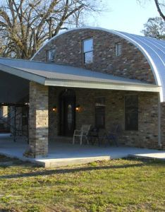 Steel homes  green buildings by factory mfg american made structures metal garages building kits also quonset hut plans residential prefab house and rh uk pinterest