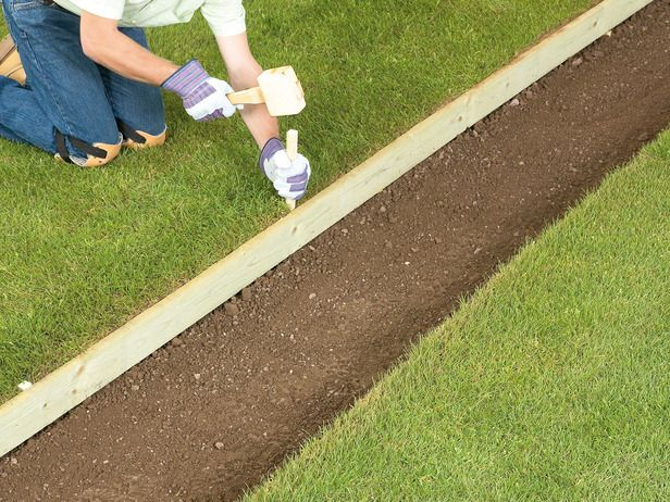 Lawn Edging Ideas 02 T R A N S I T I O N S Pinterest