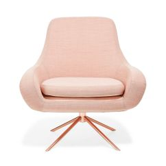 Pink Swivel Chair Cheap Covers For Dining Room Rose Gold California Gt Chicago Pinterest
