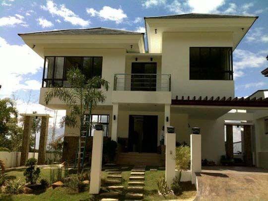 Modern Asian Exterior House Design Ideas Home Exteriors