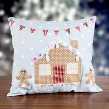Gingerbread Cushion Owl And #sewing Cat