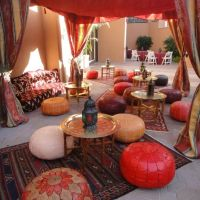 Moroccan Themed Lounge Ideas