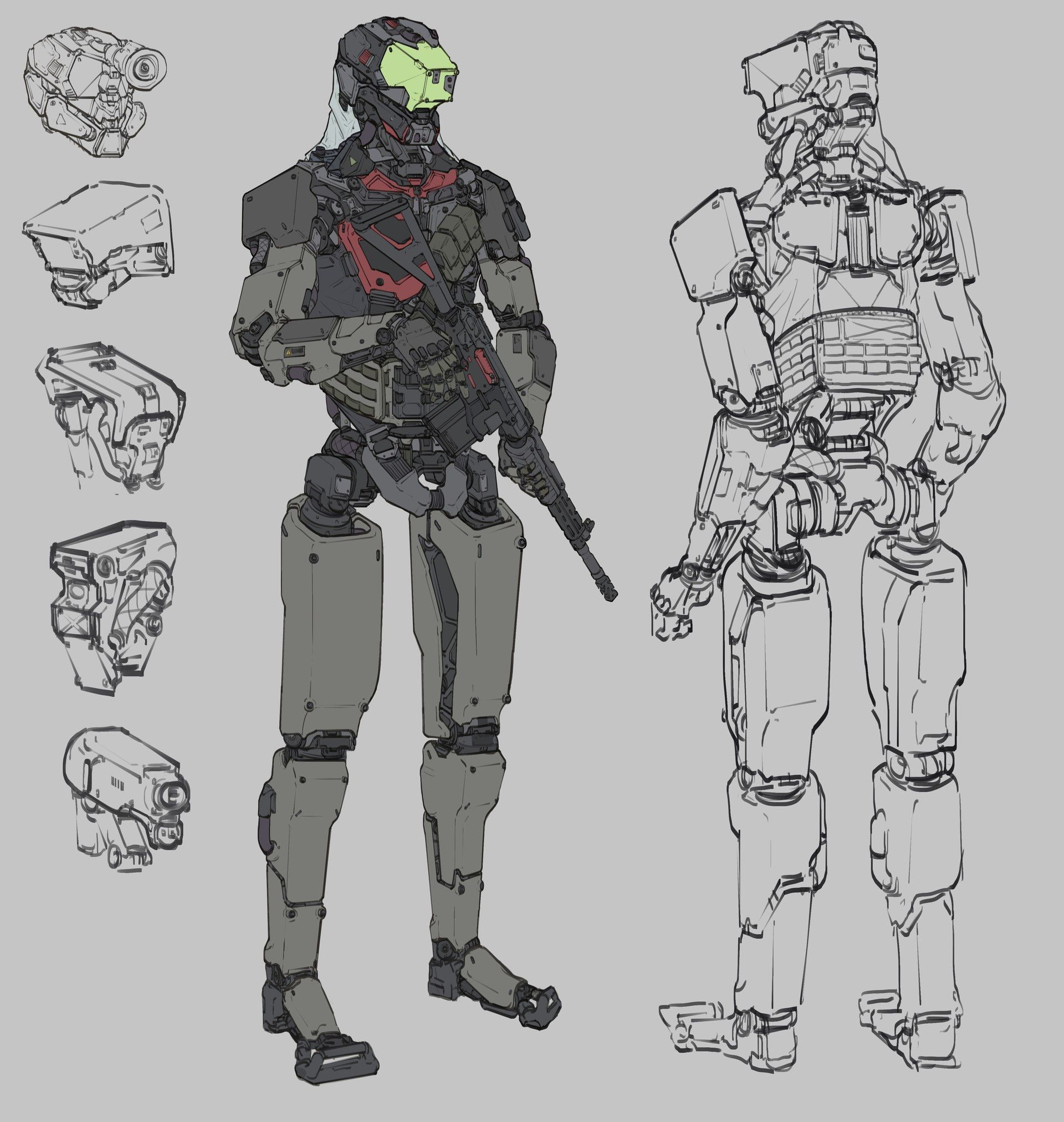 Futuristic Ninja Armor Concept Art 1944 Best Images About Auto Aire Flo Wiring Diagram Related With