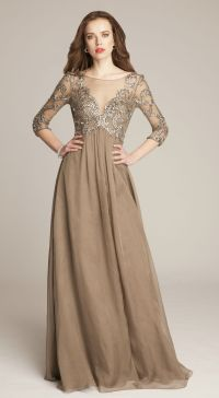 Fall Mother of the Bride Dresses | Fall wedding dresses ...