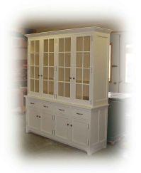 white buffet cabinet | White buffet & hutch | My home ...