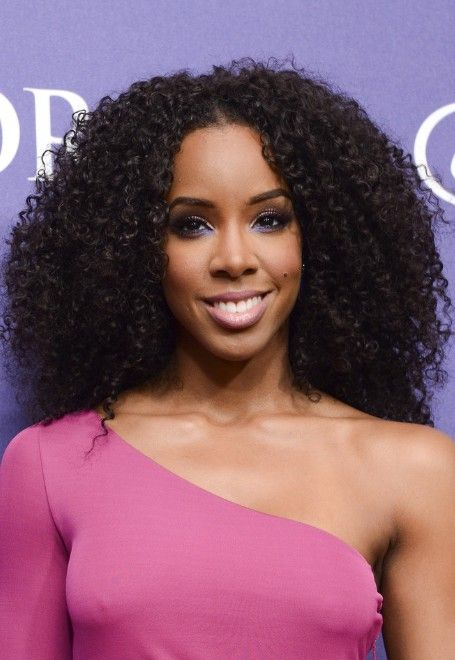 Kelly Rowland Naturally Curly Hairstyle Black Curly Hairstyles