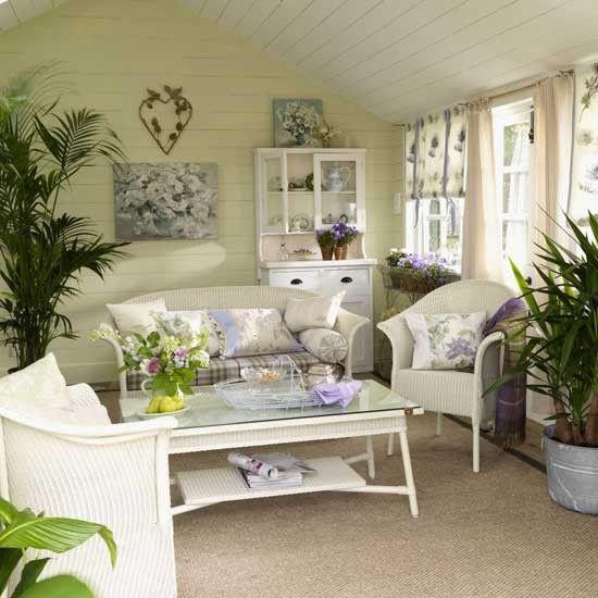 Garden Conservatory Themed Living Room I Have Always Loved