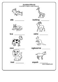 Jumbled Words Solver Activity Sheet,Downloadable Activity