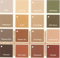 colors that match with terracotta - Google Search | House ...