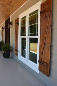 Modern Exterior Design Ideas   Grey exterior, Wooden ...