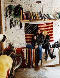 American decor rock   roll style bedroom fede saenz andkathrine glindvad larsen also rh hu pinterest