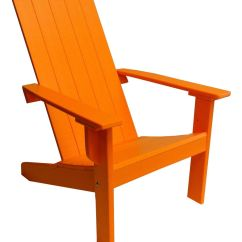 Modern Adirondack Chair Tall Dining Chairs With Square Back Made From Poly