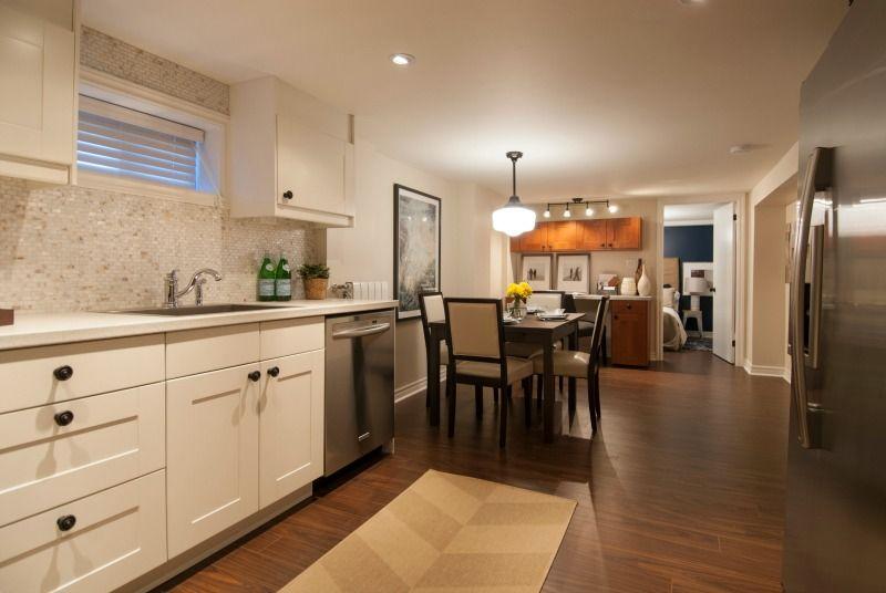 Open concept basement apartment Income Property HGTV