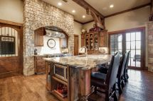 Luxurious Kitchen In Jonas Brothers' Texas Home