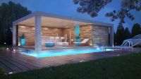 Pool House Challenge. | Pool houses, House and Pool house ...