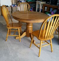 90s Oak Table Makeover | 50th, Kitchens and Paint furniture