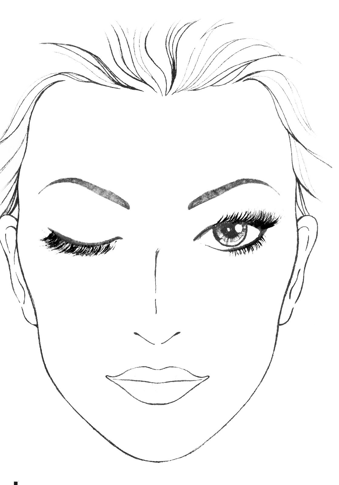 hight resolution of blank mac face charts makeup anarchist pictures this is botox face diagram man botox face diagram man