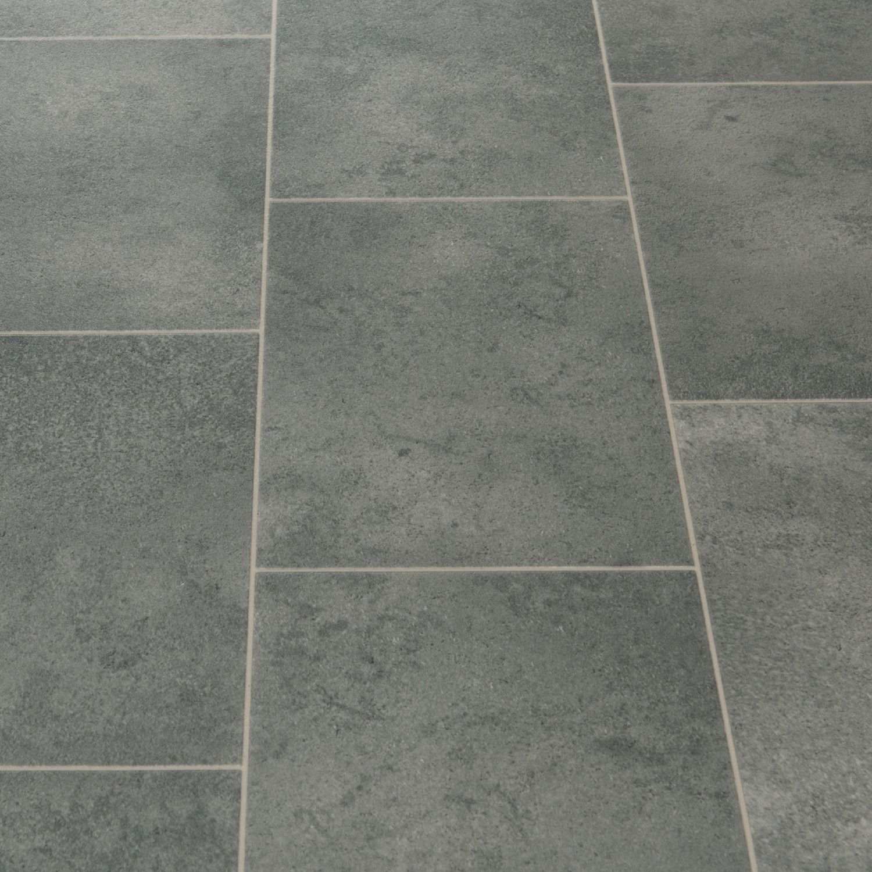 Floorgrip593GalerieGreyStoneTileEffectVinyl