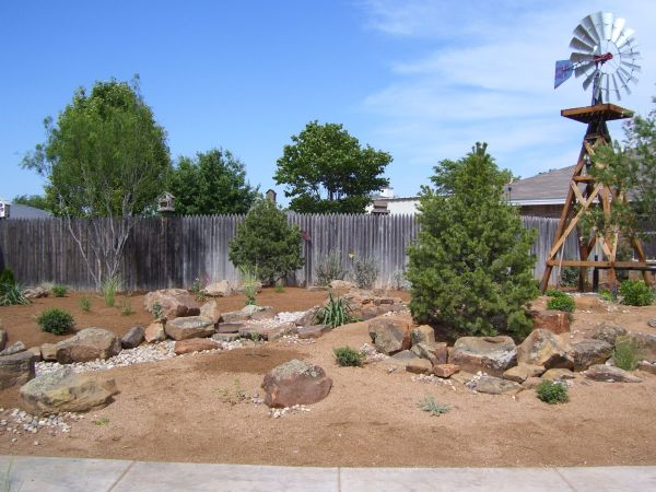 beautiful xeriscapes in west texas