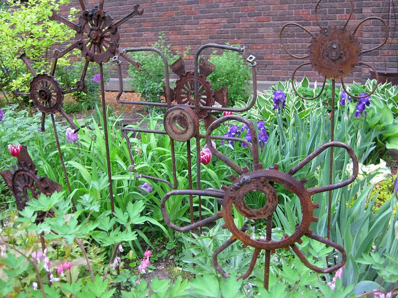 17 Best 1000 Ideas About Metal Garden Art On Pinterest Garden Art
