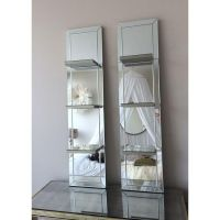 Image of Mirrored Shelf Wall Panels - A Pair | Whimsical ...