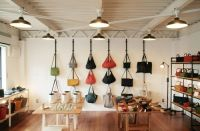 Nice way to display purses | Thrift Store Ideas ...