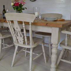Farmhouse Kitchen Table Sets Set For Girl This Large Dining Has A Substantial
