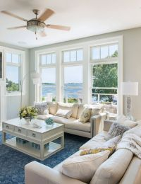 Rhode Island Beach Cottage Living Room | Home Is Where ...
