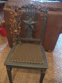 Primitive Grubby Chair https://www.facebook.com/pages ...