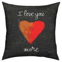 Love You More Pillow at Joss & Main | Pillows! | Pinterest ...