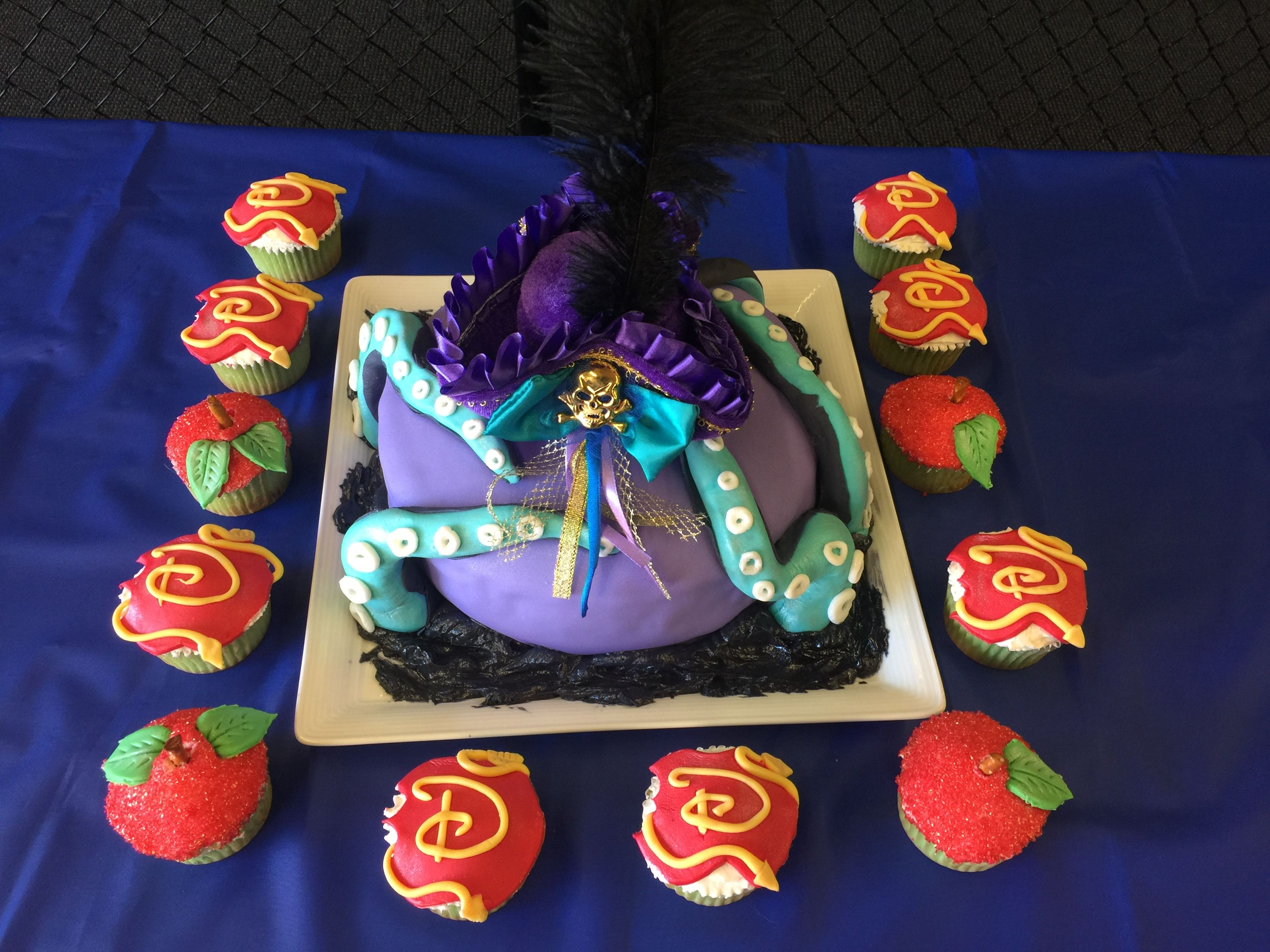 Descendants Apple Birthday Apple Cake