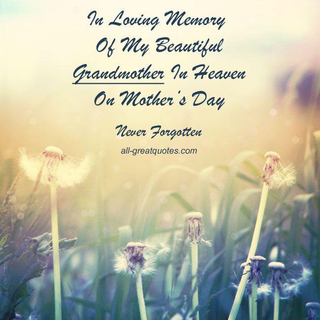 Memory Mother Sayings