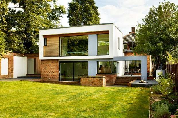 2 Storey Flat Roof Extension Google Search Extension Ideas