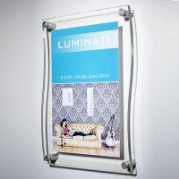 Acrylic Photo Frame - Curved Design   carol   Pinterest ...