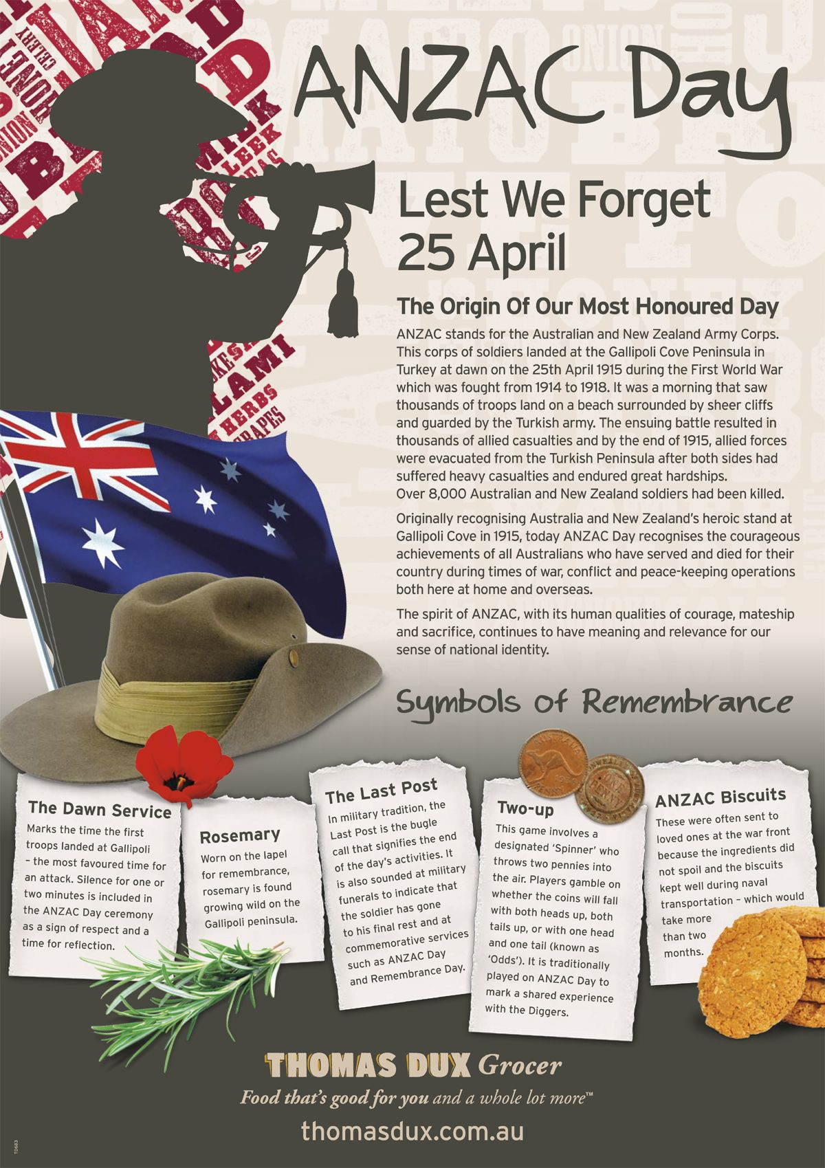 Anzac Day Is A Special Day Of Remembrance In Australia And