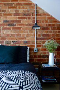 The Loft Bedroom - Final Reveal | Exposed brick walls ...