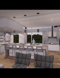 Bee caves contemporary home interiors animation vanguardstudioinc also rh pinterest